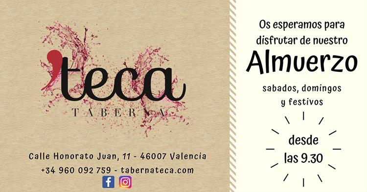 Almuerzo en Valencia - Taberna Teca
