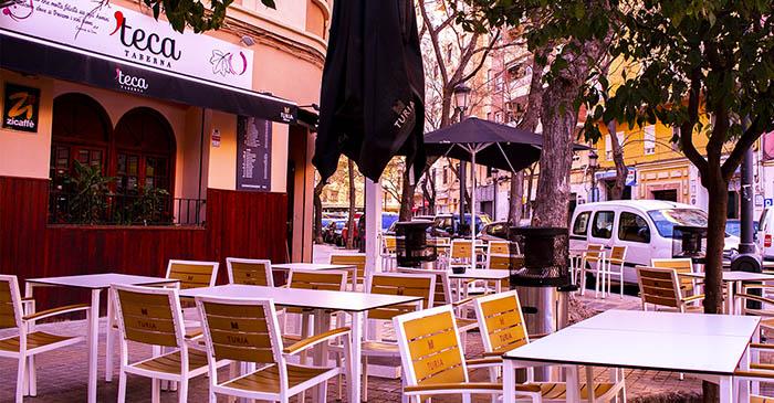 Terraza en Valencia - Taberna Teca